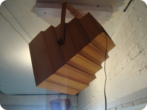 Cedar ceiling speakers